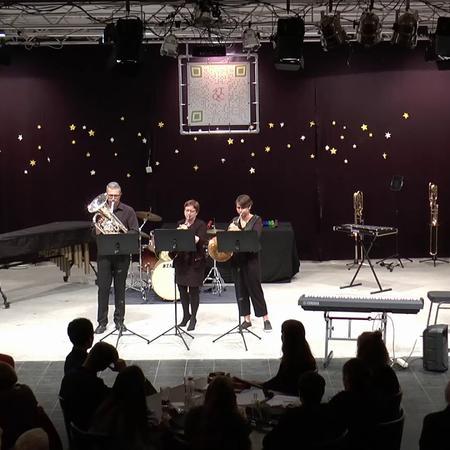 Music@Concordia 12 oktober 2019: Eva, Els en Thierry